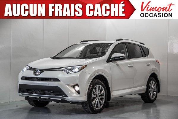 Toyota RAV4 2018+PLATINUM+AWD+NAV+CUIR+TOIT+CAMERA RECUL 2018