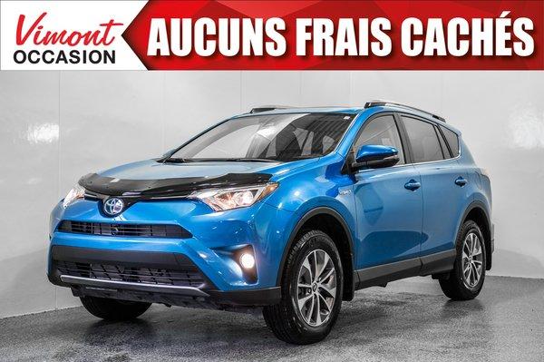 2018 Toyota RAV4 Hybrid 2018 HYBRIDE+XLE+AWD+TOIT+CAMERA RECUL