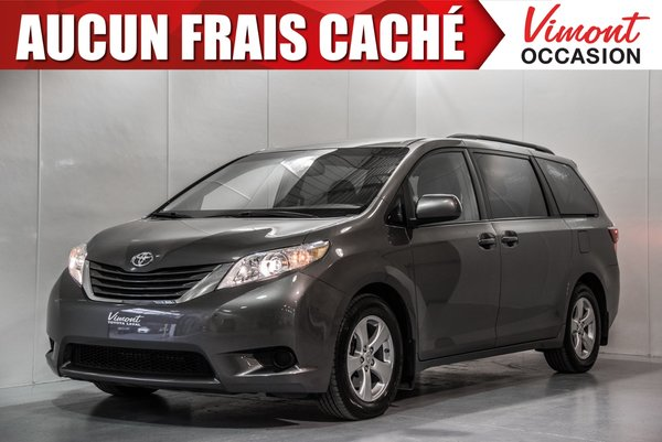 Toyota Sienna 2016+LE+8 PASSAGERS+CAMER RECUL+BLUETOOTH 2016