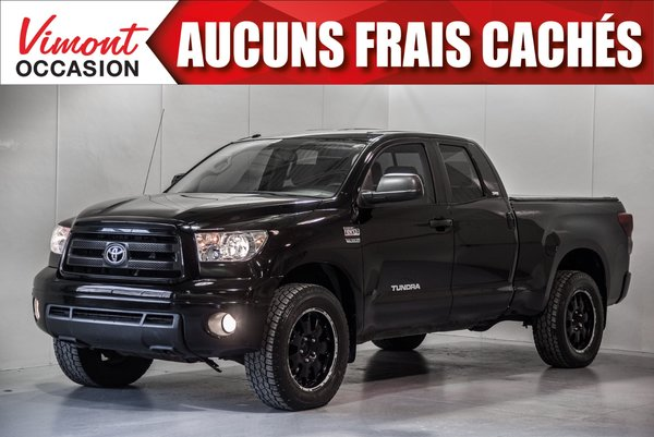 Toyota Tundra 2010+4WD+SR5+DOUBLE CAB+COUVRE CAISSE 2010