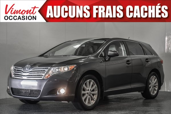 2012 Toyota Venza 2012+TOURING+CUIR+TOIT PANORAMIQUE+BLUETOOTH