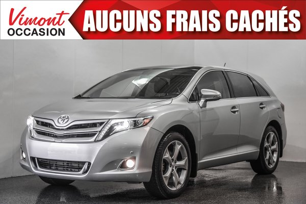 2016 Toyota Venza 2016+AWD+LIMITED+NAV+CUIR+TOIT PANORAMIQUE