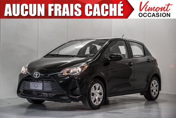 2018 Toyota Yaris 2018+HB+LE+CAMERA RECUL+BLUETOOTH+A/C+