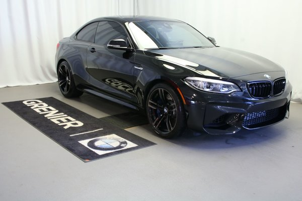 Used 2018 BMW M2 Toit, Navigation, Harman Kardon Black 5,200