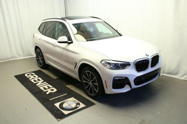 used 2019 bmw x3 premium package ligne m sport white 56 km for sale 55995 0 grenier bmw b0437