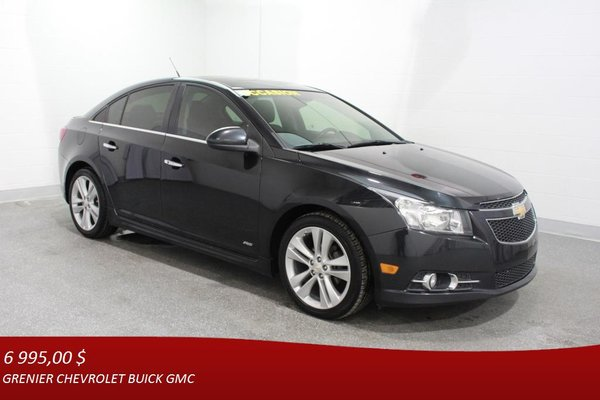 Used 2012 Chevrolet Cruze Ltz Rs Turbo Gps Cuir Toit Ouvrant Black 165 319 Km For Sale 6995 0 Grenier Chevrolet Buick Gmc 17 1423a