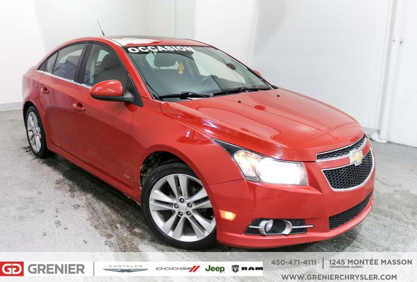 Used 2012 Chevrolet Cruze Rs Toit Ouvrant 8 Roues 8pneus Turbo Red 96 000 Km For Sale 6790 0 Grenier Chrysler Dodge Jeep A 3291a