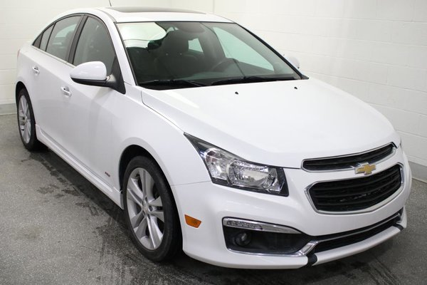 Used 2015 Chevrolet Cruze Lt Rs Turbo Nav Cuir Cam Rec White 78 699 Km For Sale 13390 0 Grenier Chevrolet Buick Gmc Ag 11632