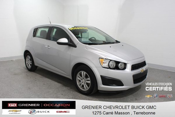Used 2014 Chevrolet Sonic Lt Siges Chauf Mags Air Clim Gp Elec