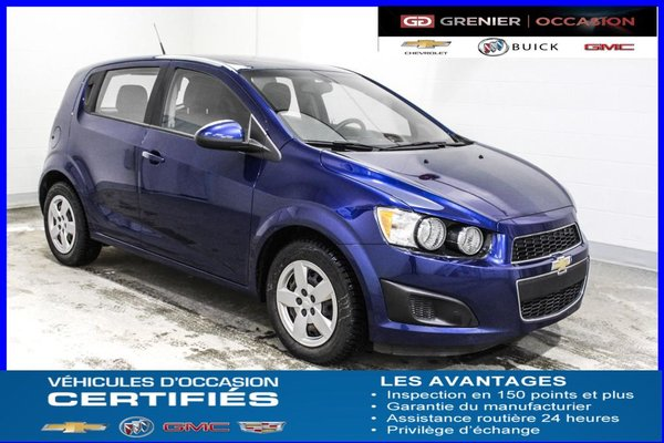 Used 2014 Chevrolet Sonic Ls Air Clim Auto Dark Blue 74207 Km For