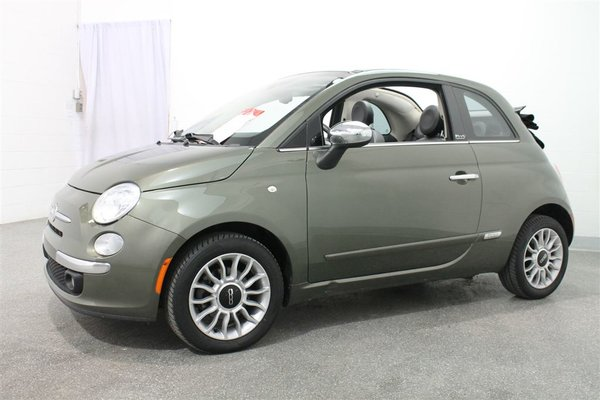 fiat 500c lounge 2012 vert fonc 50 703 km 7395 0 grenier occasion a17 546 1. Black Bedroom Furniture Sets. Home Design Ideas