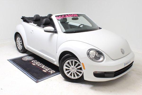 Volkswagen Beetle CONVERTIBLE+BLUETOOTH+GARANTIE 2015