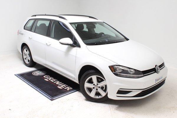 2018 Volkswagen GOLF SPORTWAGEN DEMO+BLUETOOTH+CAM DE RECUL