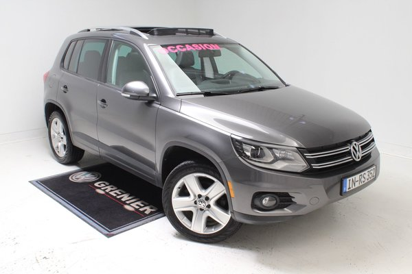 2014 Volkswagen Tiguan COMFORTLINE+4MOTION+GARANTIE