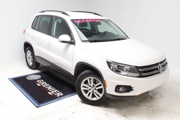 2014 Volkswagen Tiguan 4MOTION+BAS KM+BLUETOOTH
