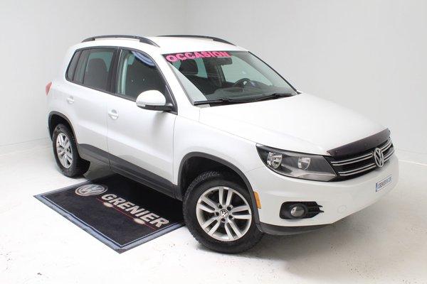 2015 Volkswagen Tiguan 4MOTION+GARANTIE+BLUETOOTH