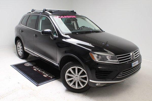 2015 Volkswagen Touareg SPORTLINE+BAS KM+GARANTIE