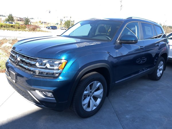 2018 Volkswagen Atlas Highline V6 4Motion