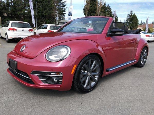 2017 Volkswagen Beetle Convertible Pink Edition Auto