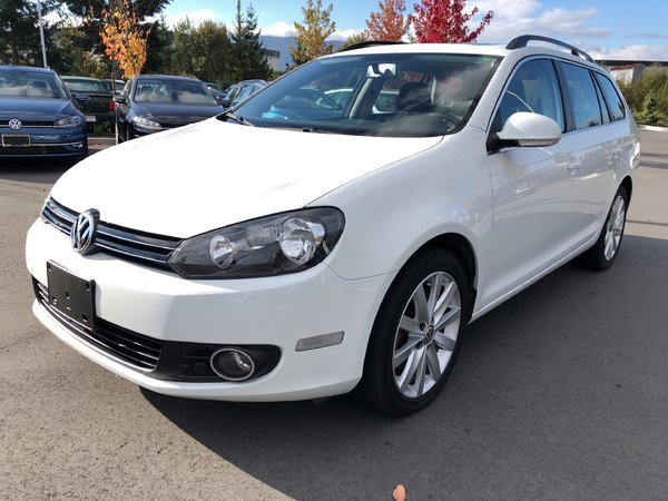 2014 Volkswagen Golf TDI Highline Auto w/ Navigation