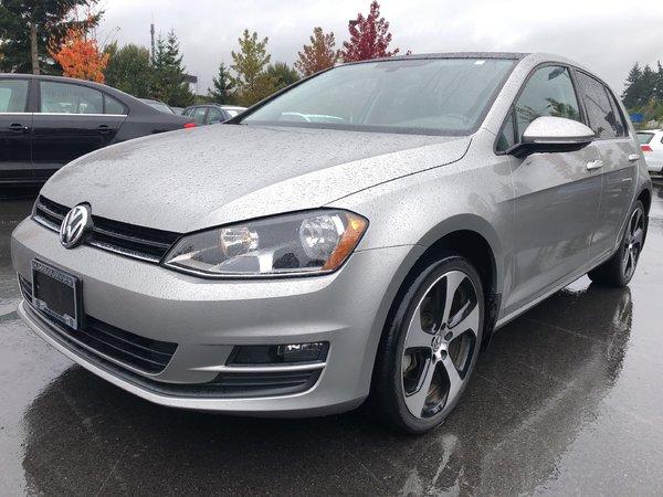 2015 Volkswagen Golf Comfortline Auto w/ Convenience Pkg.
