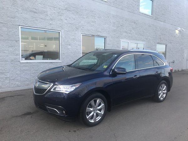 2016 Acura MDX Elite |  LEATHER | NAVI | SUNROOF | REAR DVD