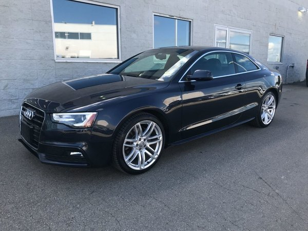 2015 Audi A5 2.0T 4Motion Progressiv . **LEATHER-NAV-SUNROOF**