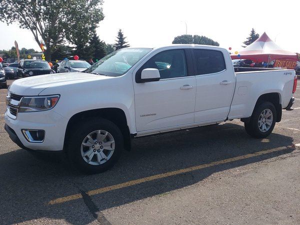 2016 Chevrolet Colorado 4x4 LT