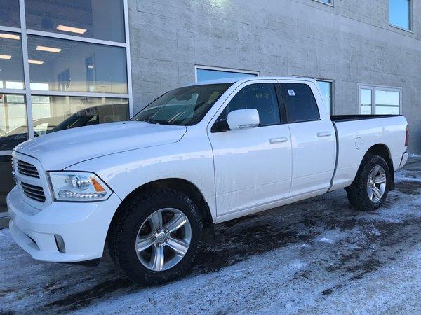 2014 Dodge RAM 1500 SPORT | QUAD CAB | 4x4