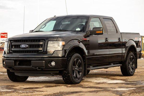 Used 2013 Ford F 150 Fx4 Tuxedo Black Metallic 165 807 Km For Sale