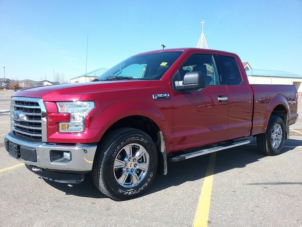 2016 Ford F-150 SuperCab 4x4 XLT