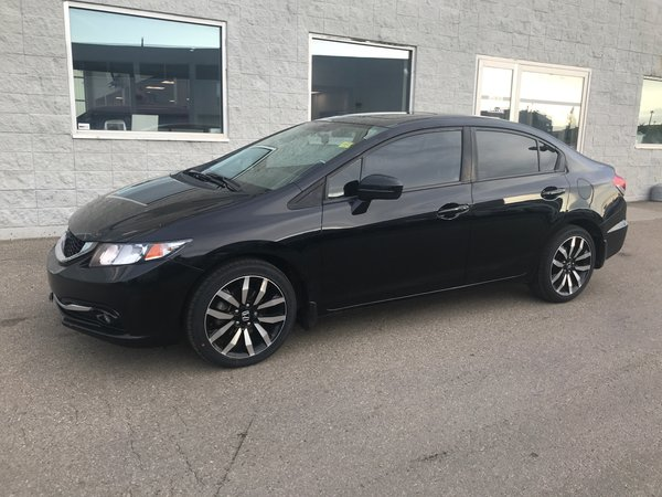 2015 Honda Civic Sedan Touring | LEATHER | NAVI | SUNROOF | ONE OWNER