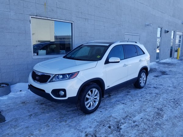 2011 Kia Sorento EX LUXURY | AWD | LEATHER | HEATED SEATS