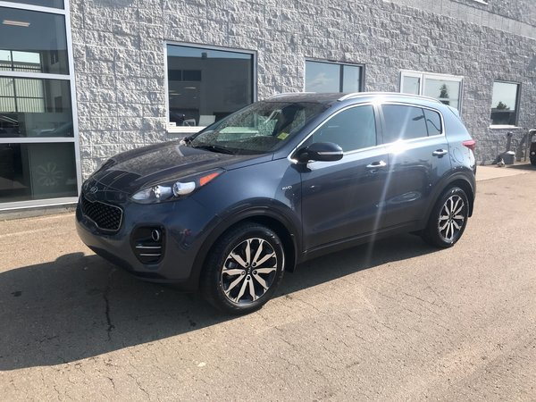 2017 Kia Sportage EX | LEATHER | APPLE CARPLAY |  BACK-UP CAMERA |