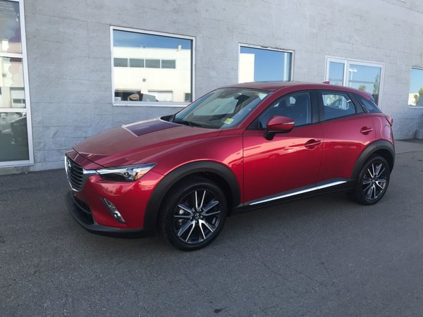 2018 Mazda CX-3 GT | LEATHER | NAVI | SUNROOF | TECH PACKAGE