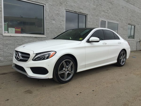 2015 Mercedes-Benz C-Class C 300 | LEATHER | NAVIGATION | SUNROOF|