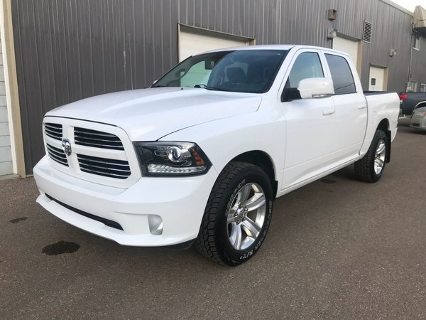 2013 Ram 1500 CrewCab 4x4 SPORT w/LEATHER