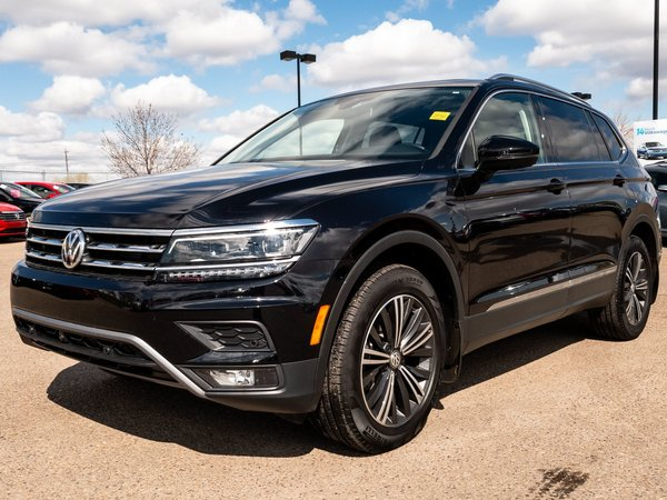 Used 2018 Volkswagen Tiguan Highline Black 14,379 KM for