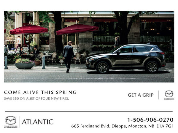 Atlantic Mazda - Come Alive This Spring