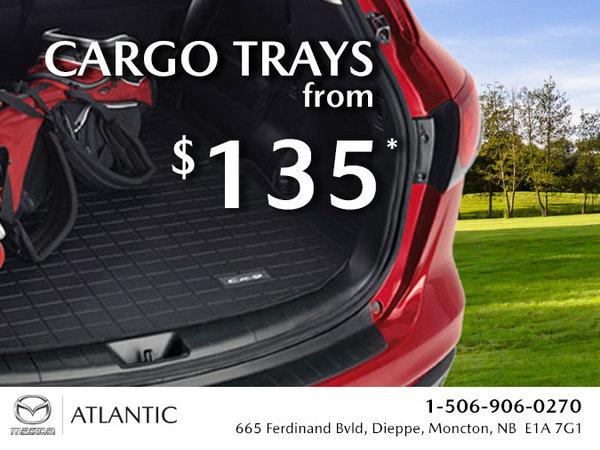 Atlantic Mazda - Cargo Trays from $135