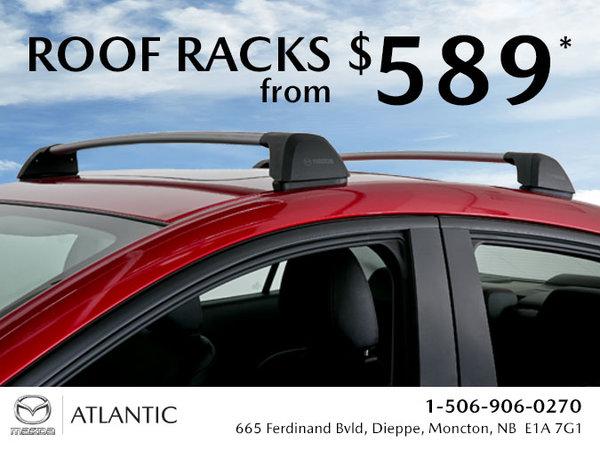 Atlantic Mazda - Roof Racks from $589