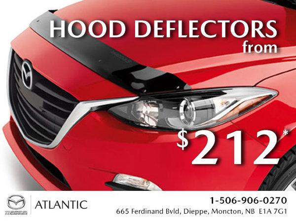 Atlantic Mazda - Hood Deflectors from $212