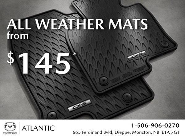 Atlantic Mazda - All Weather Floor Mats from $145