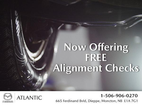 Atlantic Mazda - Free Alignment Checks