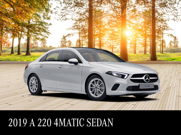 Graduate to the A-Class - From $419/month