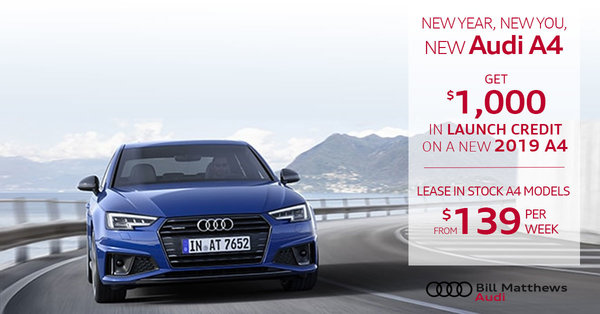 New Year, New  2019 Audi A4