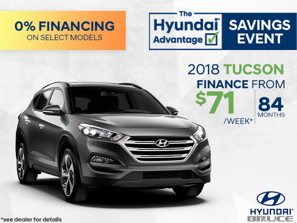 Finance the 2018 Tucson | Only 5 Left!