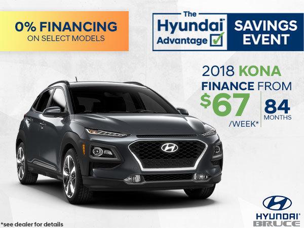 Finance the 2018 Hyundai Kona | Only 3 Left!