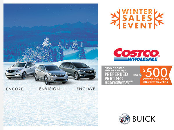 *Limited Time Offer* Preferred Pricing on Buicks for Eligible Costco Members