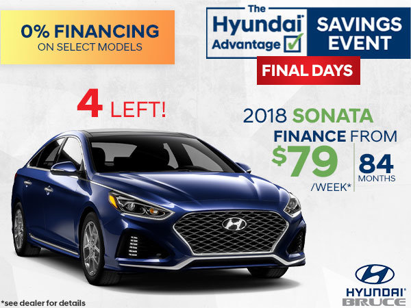 Finance the 2018 Hyundai Sonata